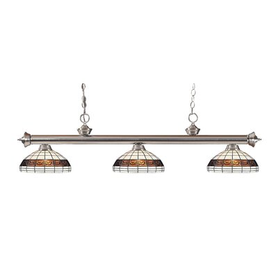 Billington 3-Light Billiard Light Finish: Brushed Nickel