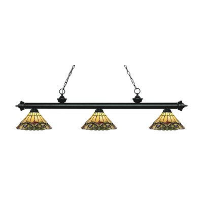 Billington 3-Light Billiard Light Color: Matte Black
