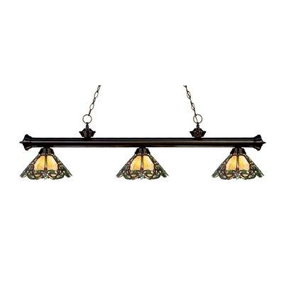 Billington 3-Light Billiard Light Color: Bronze