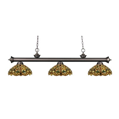 Billington 3-Light Billiard Light Color: Olde Bronze