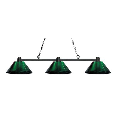 Centeno 3-Light Kitchen Island Pendant Finish: Bronze