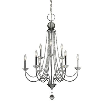 Serenade  9-Light Crystal Chandelier