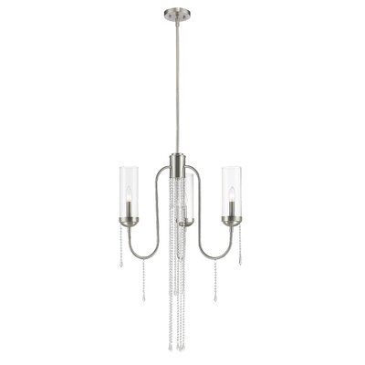 Siena 3-Light Crystal Chandelier