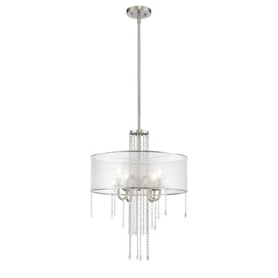 Liara 4-Light Crystal Chandelier