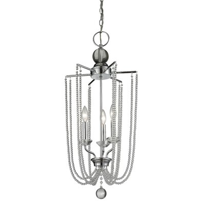 Serenade 3-Light Foyer Pendant