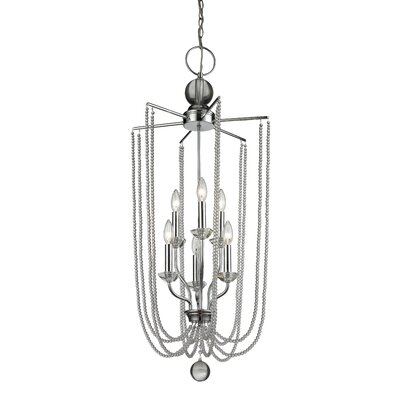 Patrice 6-Light Foyer Pendant