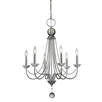 Patrice 6-Light Crystal Chandelier