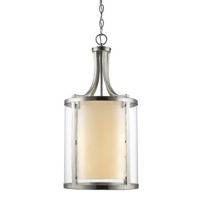 Cheyne 4-Light Foyer Pendant Finish: Brushed Nickel