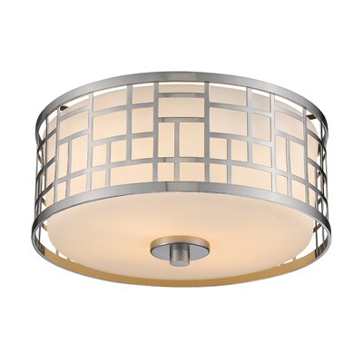 Hummer 2-Light Flush Mount