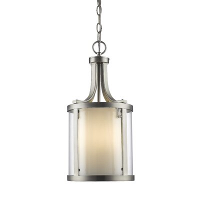 Cheyne 3-Light Foyer Pendant Finish: Brushed Nickel