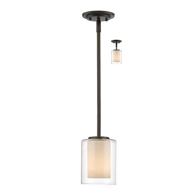 Cheyne 1-Light Mini Pendant Finish: Olde Bronze