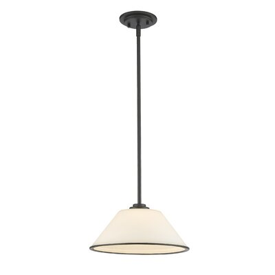 Hwang 1-Light Mini Pendant Finish: Bronze