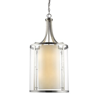 Cheyne 8-Light Foyer Pendant Finish: Brushed Nickel