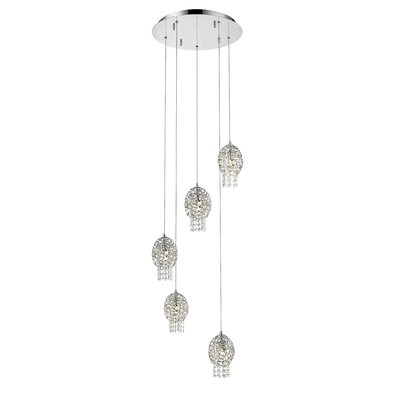 Lelia 5-Light Cascade Pendant