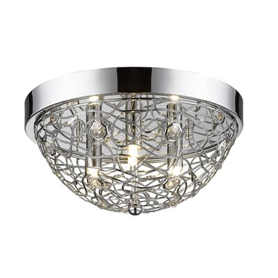 Lelia 3-Light Flush Mount