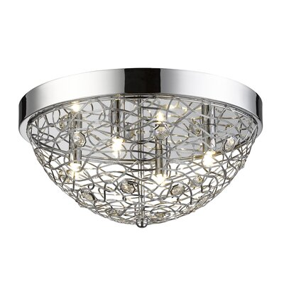 Lelia 4-Light Flush Mount