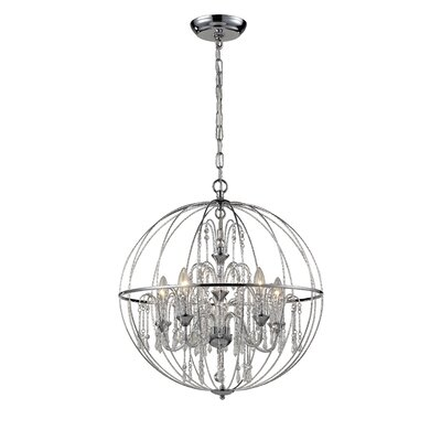 Laia 5-Light Globe Pendant