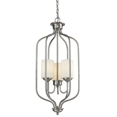 Cardinal 3-Light Foyer Pendant