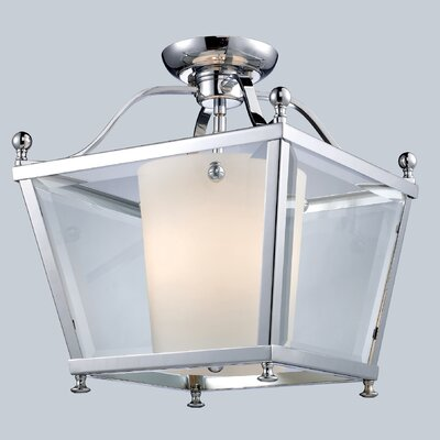 Cully 3-Light Foyer Pendant Size: 14 H x 12.25 W