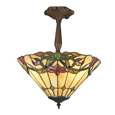 Sola 3-Light Semi-Flush Mount