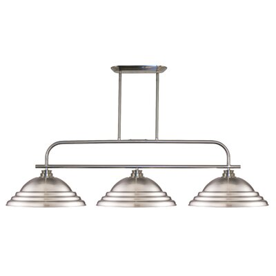 Clayton 3-Light Billiard Light