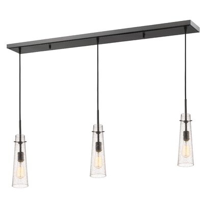 Gholson 3-Light Kitchen Island Pendant Finish: Bronze
