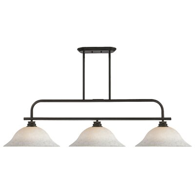 Clayton 3-Light Pool table Light