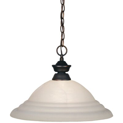 Shark 1-Light Mini Pendant Finish: Olde Bronze