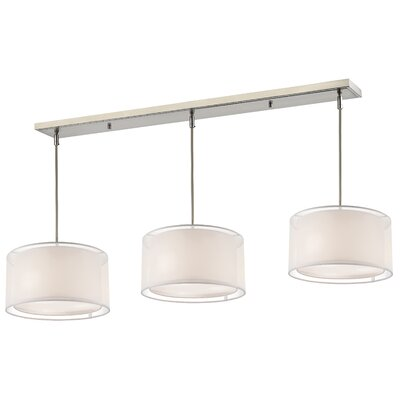 Sedona 9-Light Pool Table Light Shade Color: White/ Super White
