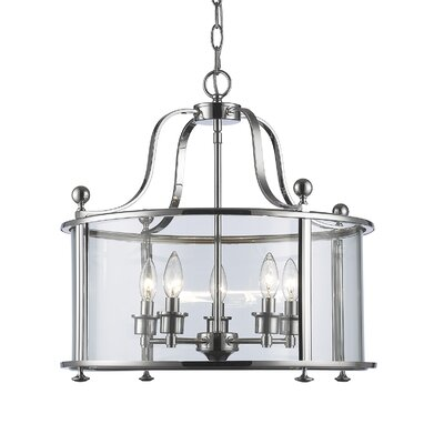 Lucah 5-Light Foyer Pendant Finish: Chrome