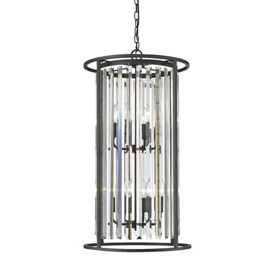 Monarch 8-Light Foyer Pendant Finish: Bronze