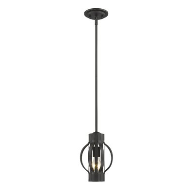 Fava 1-Light Mini Pendant Finish: Bronze