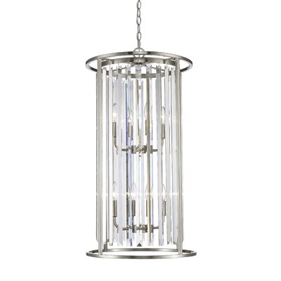 Monarch 8-Light Foyer Pendant Finish: Brushed Nickel