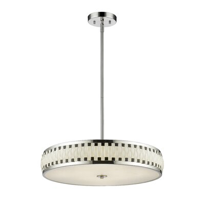 Sevier 7 LED Integrated Bulb Drum Pendant