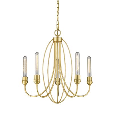 Persis 5-Light Candle-Style Chandelier