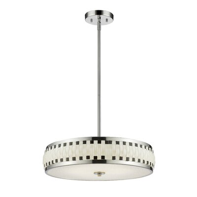 Sevier 6 LED Integrated Bulb Drum Pendant