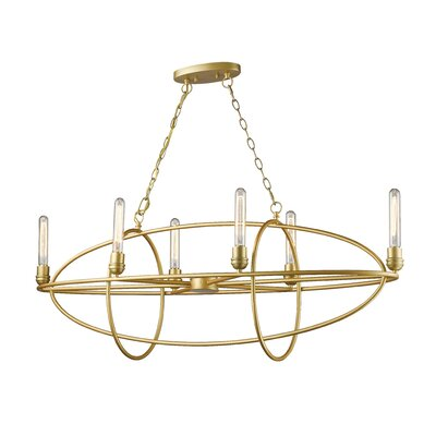 Persis 6-Light Candle-Style Chandelier