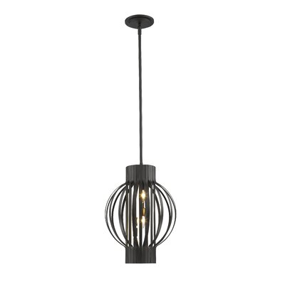 Fava 3-Light Foyer Pendant Finish: Bronze