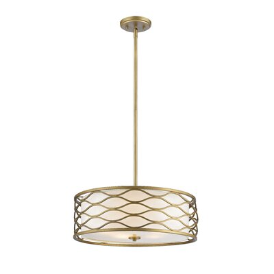 Severine 5-Light Drum Pendant