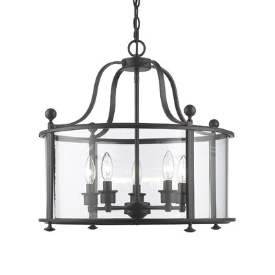 Lucah 5-Light Foyer Pendant Finish: Bronze