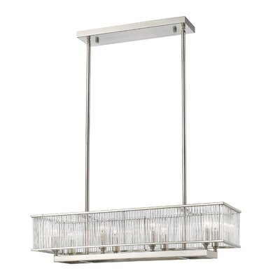 Cesar 8-Light Kitchen Island Pendant