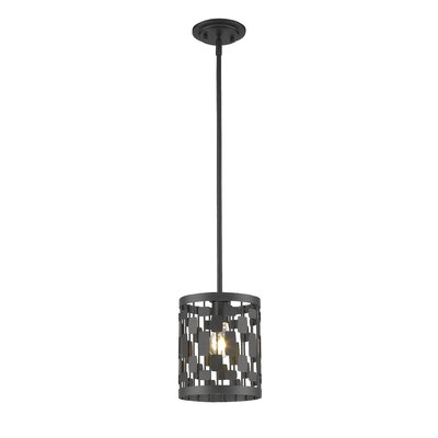 Almet 1-Light Mini Pendant Finish: Bronze