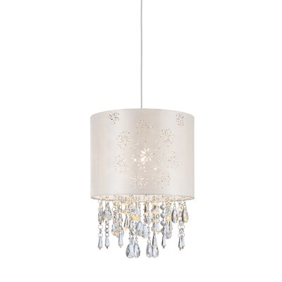 Lumi Glace 1-Light Crystal Pendant