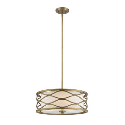 Blaker 3-Light Drum Pendant
