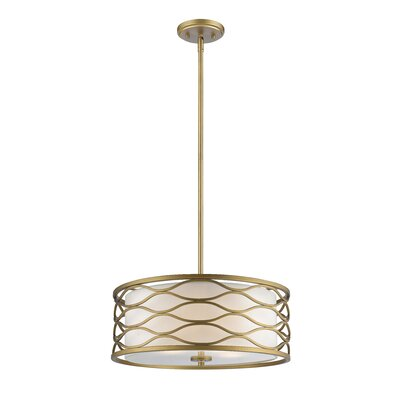 Severine 4-Light Drum Pendant