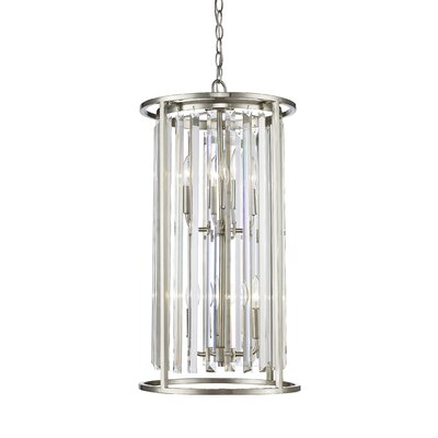 Monarch 6-Light Foyer Pendant Finish: Brushed Nickel
