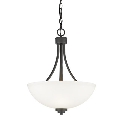 Kepner 3-Light Inverted Pendant Finish: Bronze
