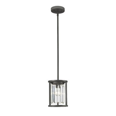 Chelvey 1-Light Mini Pendant Finish: Bronze