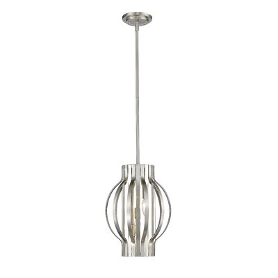 Moundou 3-Light Foyer Pendant Finish: Brushed Nickel
