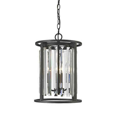 Monarch 3-Light Foyer Pendant Finish: Bronze